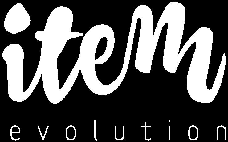 Logo d'Item Evolution - version blanc